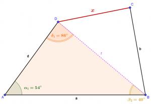 Dreieck ABD